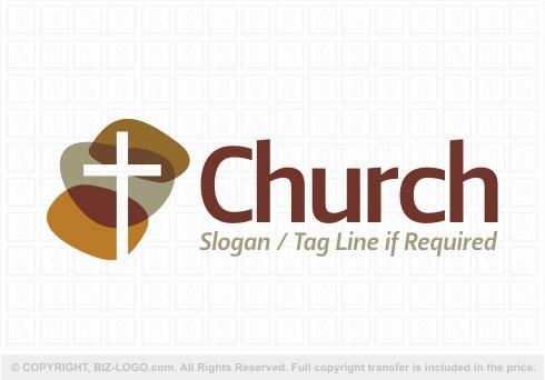 earth tones church logo