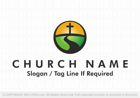 8070: Nature Church Logo