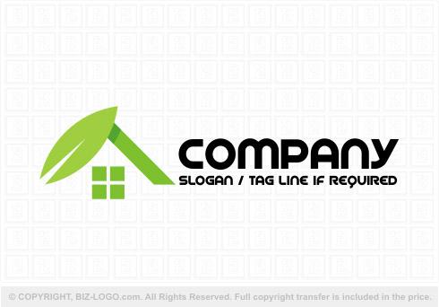 Construction logos readymadepre designed logos eco greenhouse construction logo malvernweather Gallery