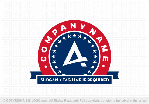 7935: American Letter A Logo