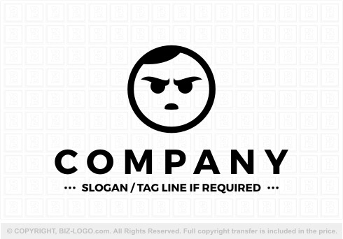 Logo for Sale: 7679: Grumpy Logo