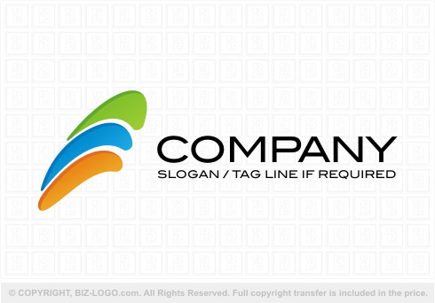 Three Color Rainbow Logo