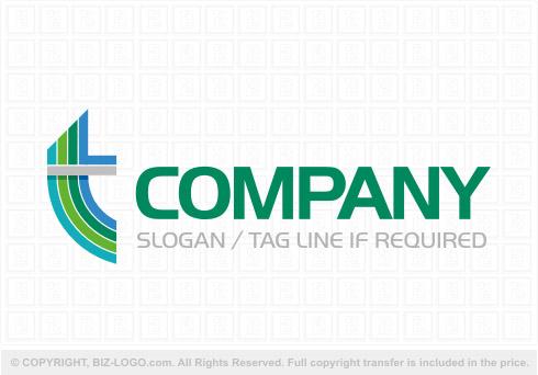 Cool Letter I Logo.Cool Letter T Logo