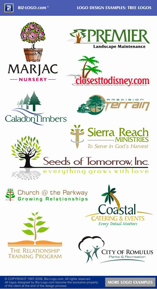Tree Logos (Logo Examples)